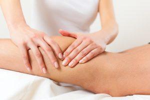 Remedial Massage on calves